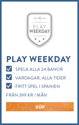 GolfStar Play Weekday