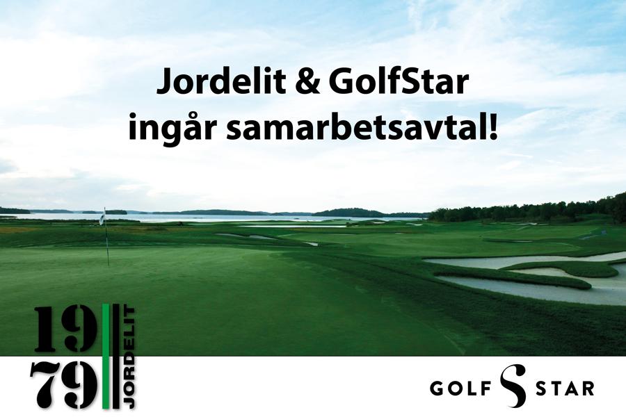 GolfStar har tecknat samarbetsavtal med Svensk Jordelit AB, Nordens ledande leverantör av gödningsprodukter