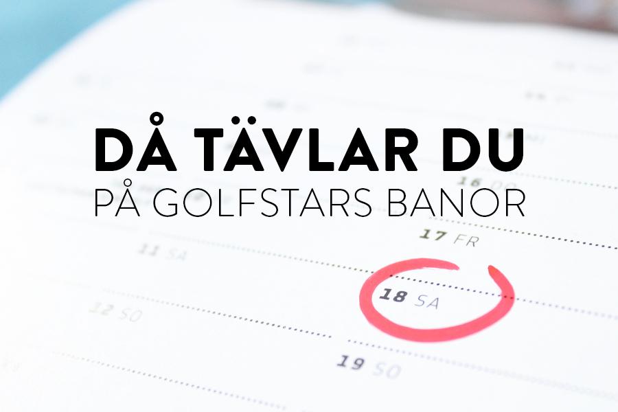 Delta i GolfStars försommartävlingar