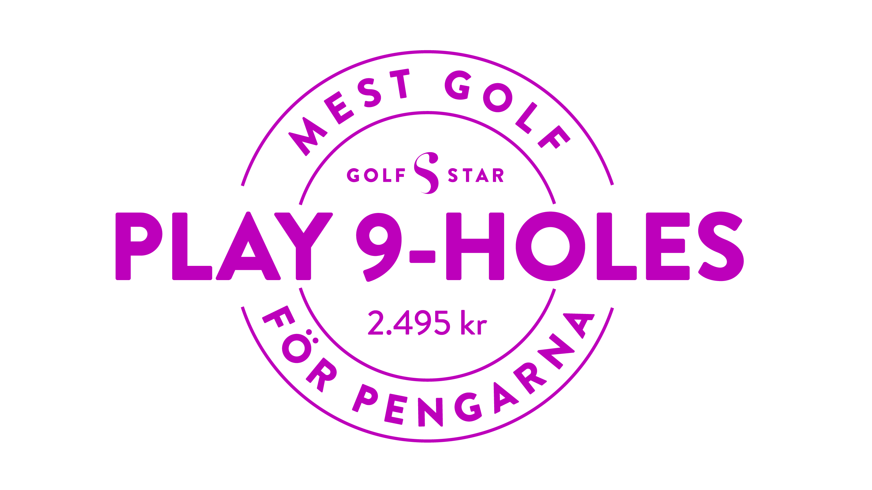 GolfStar Play 9-holes